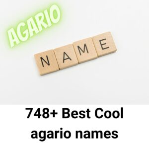 748+ Best Cool agario names