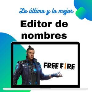 editor de nombres